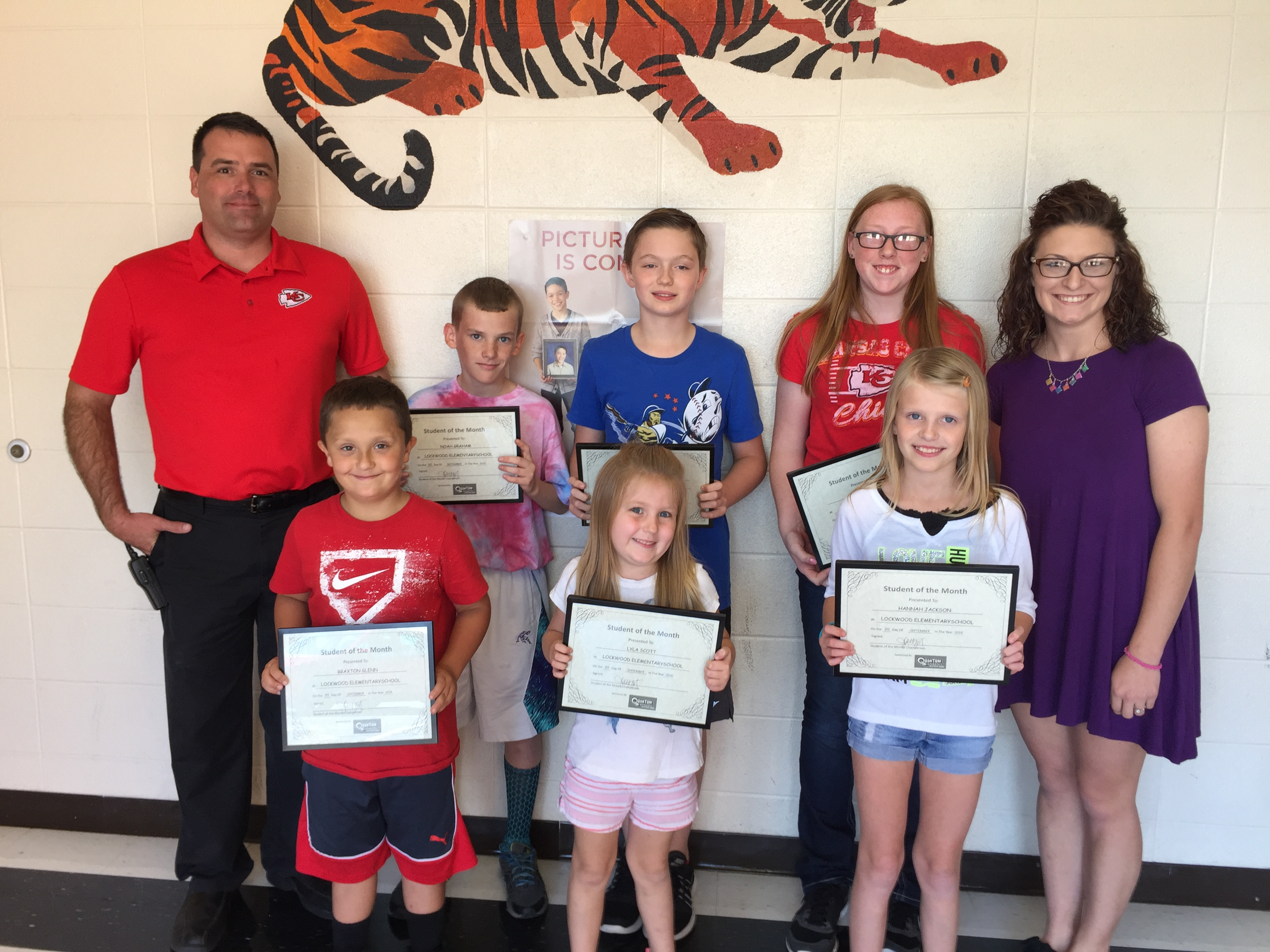LEMS Students of the Month